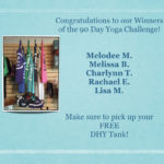 Announcing our 90 DAY Challenge Winners!