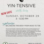 Schedule Change for Yin-Tensive!
