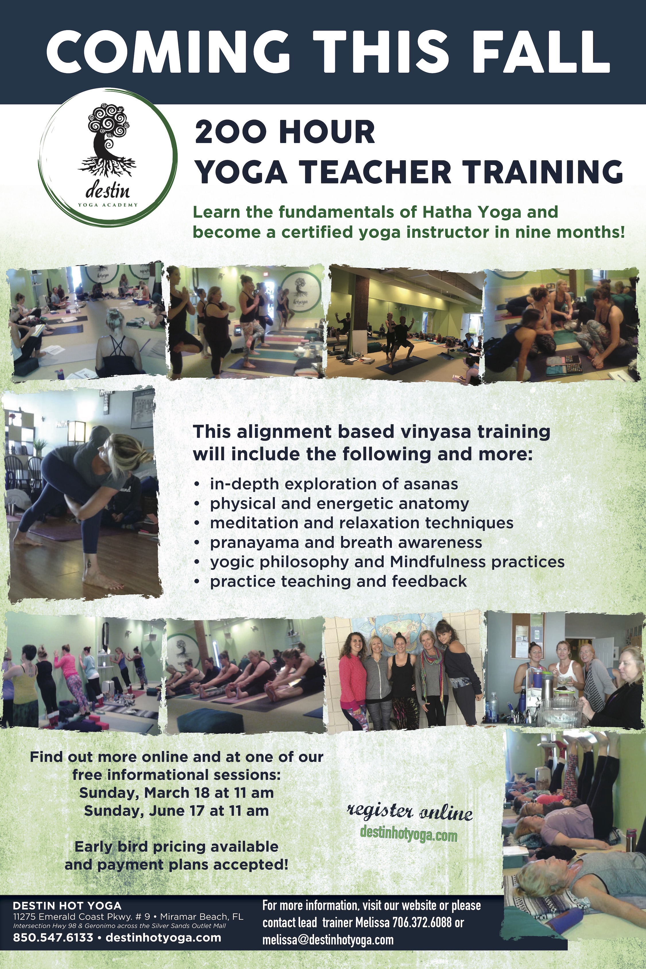 200 Hour Yoga Teacher Training This Fall