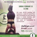 Arm Balance & Inversion Workshop is this Sunday!