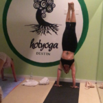 DHY practices their Handstands!